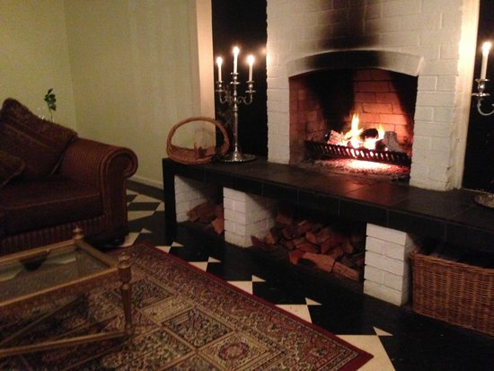 Old Church Restaurant: The Fire Place