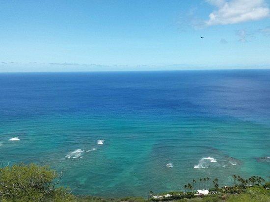 Diamond Head: One of the many ocean views.
