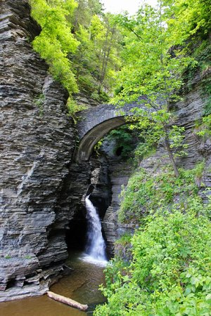 Beautiful Watkins Glen State Park and Gorge