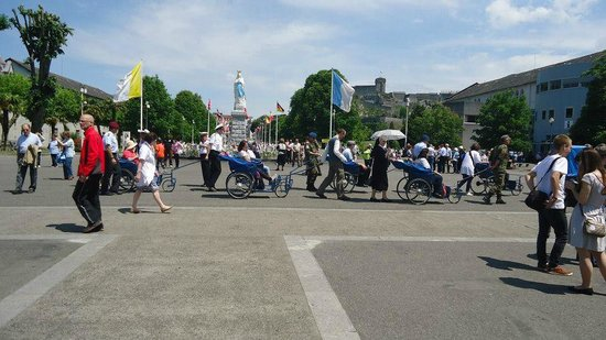 Sanctuary of Our Lady of Lourdes: International Militar Pilgrimage 2014
