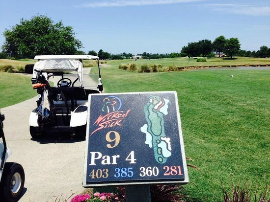 Wicked Stick Golf Links: 9th Hole