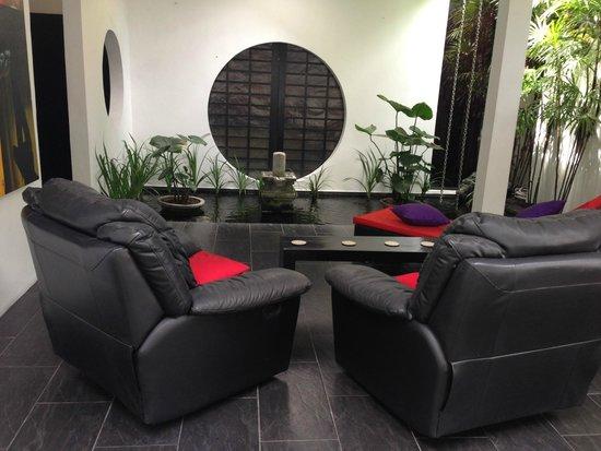 Arvina Villas: Living Area