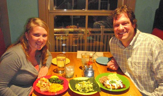 Mi Casa Kitchen and Bar: A couple of our favorite locals!