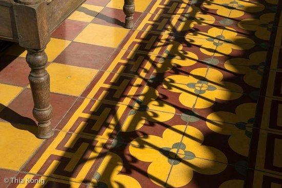 La Gran Francia Hotel y Restaurante: I loved the floor tiles