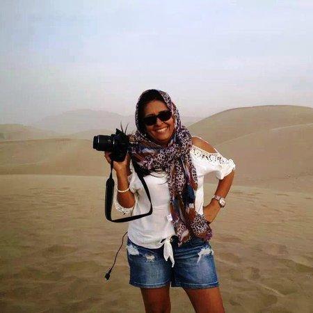 Viajes Paracas : Disfrutè en este hermoso lugar , de mi hobby favorito.....