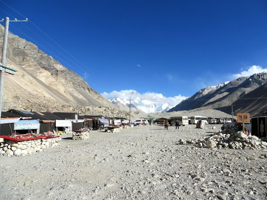 Mt. Everest Base Camp : The Tent Camp