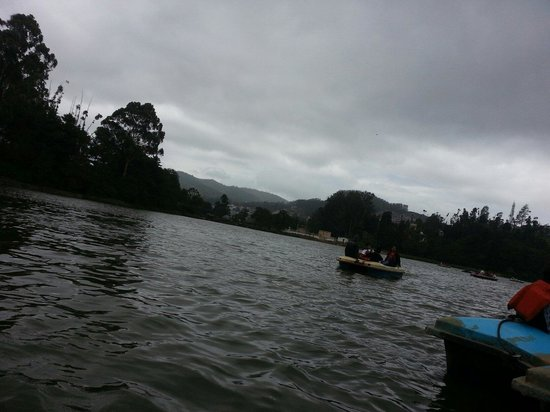Ooty Lake: owsam weather. ...