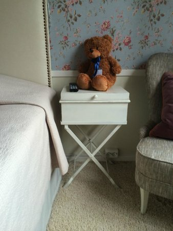 Freys Hotel: A teddy to welcome u