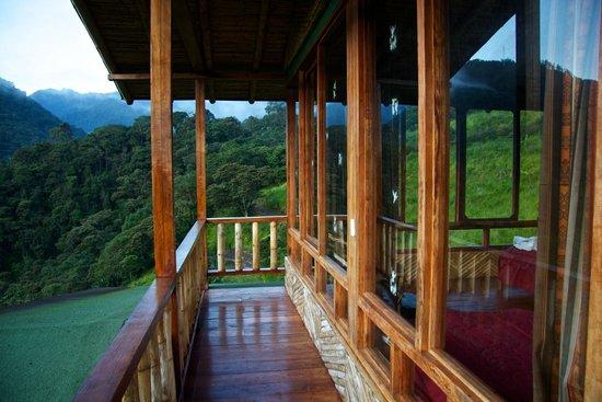 San Jorge Eco-Lodge & Botanical Reserve : Early morning at Tandayapa lodge