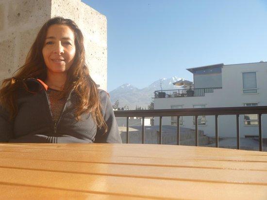 Casa Andina Private Collection Arequipa : terraza del hotel