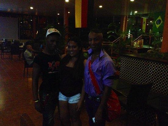 Hotel Club Puntarena: Great dancers