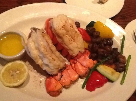 The Keg Steakhouse + Bar Burnaby: 2 lobster tails