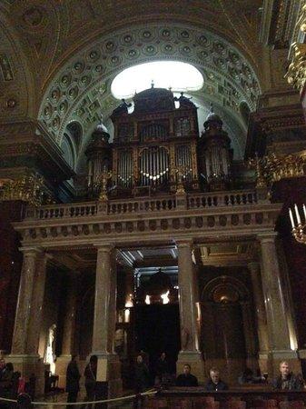 St. Stephen's Basilica (Szent Istvan Bazilika): Organo
