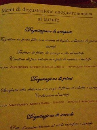 Ad Hoc : menu degustação
