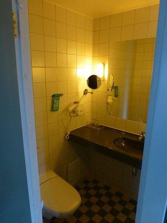 Scandic Kungsgatan : 洗面・トイレ・シャワーは一緒です.