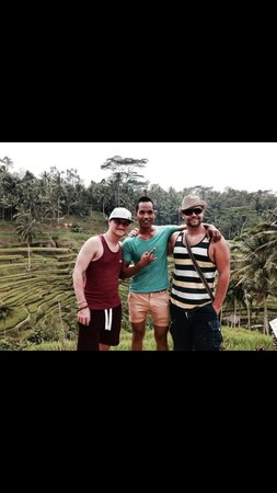 Mano Tour Guide Bali: With Ketut in the fields