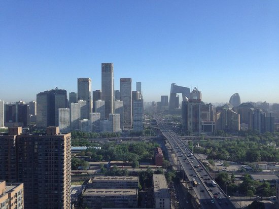 Renaissance Beijing Capital Hotel: View from Lounge