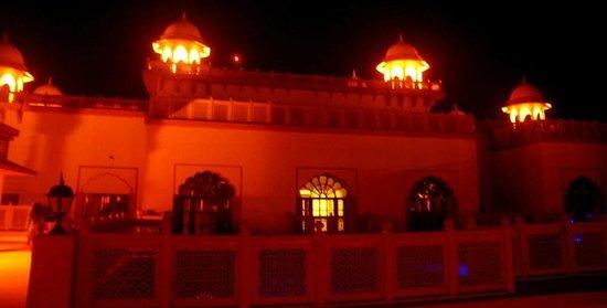 Vivanta by Taj - Hari Mahal, Jodhpur: Illuminated at night