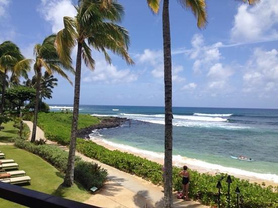 Koa Kea Hotel & Resort: View from oceanfront room.