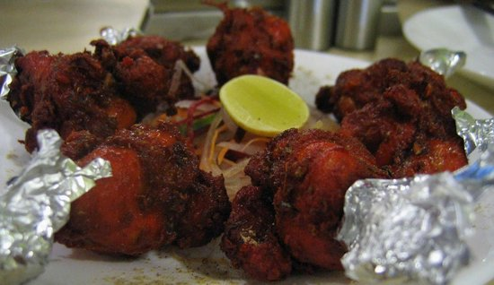 Kobe Sizzlers Goa: Chicken Lollipop