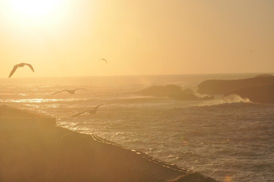 Essaouira Beach: Sunset