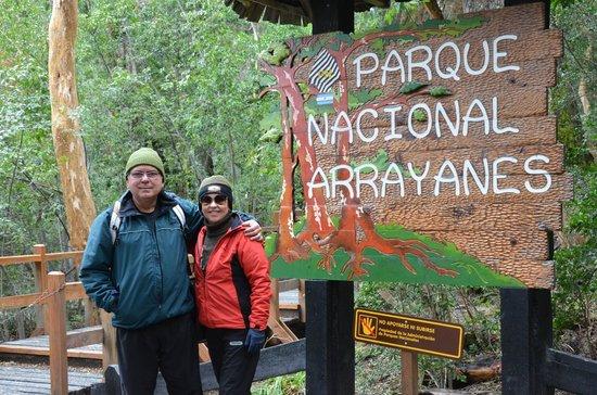 Bosque de Los Arrayanes: Parque Nacional, entrada