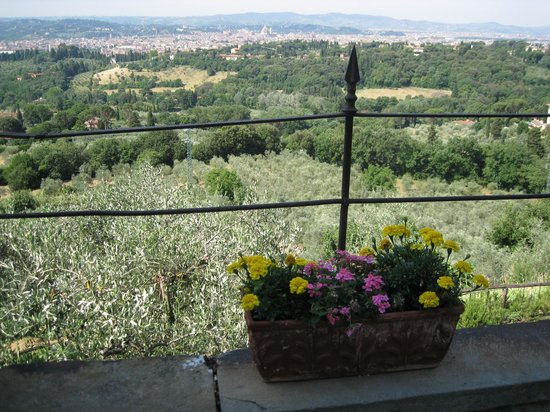 Pensione Bencista: Gorgeous vistas of Firenze
