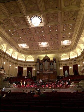 Concertgebouw: Sala central