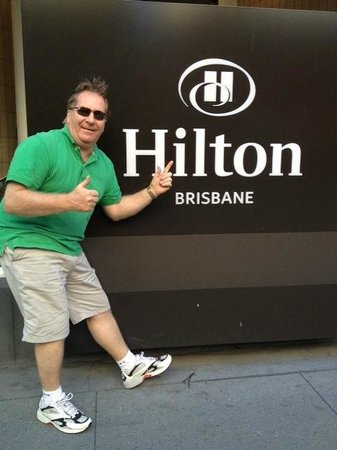Hilton Brisbane: Elizabeth Street entrance 2012