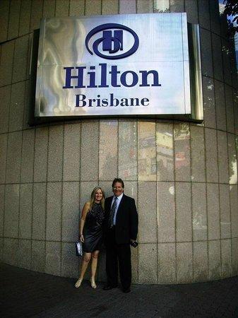 Hilton Brisbane: Deborah & I Elizabeth Steet entarnce 2009