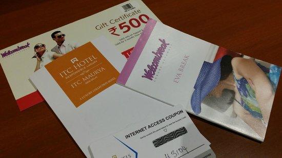 ITC Maurya, New Delhi: card