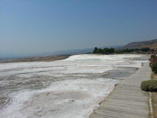 Hierapolis & Pamukkale: Pamukkale