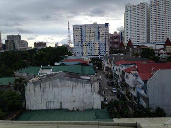 Hotel Rembrandt: view