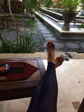 Ubud Aura: You would really stay here for Yoga Barn.