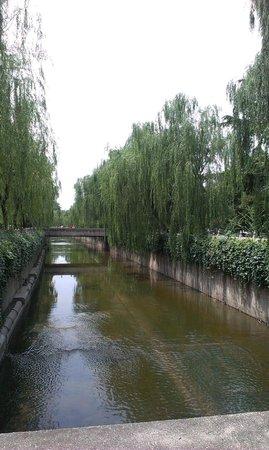 Tsinghua University : Beautiful water canal on campus