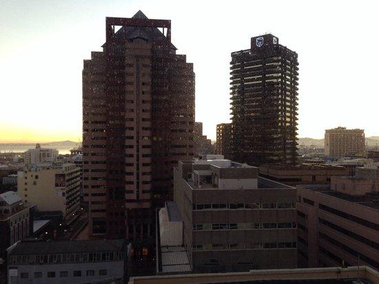 Strand Tower Hotel : Aussicht aus dem Zimmer im 14. Stock
