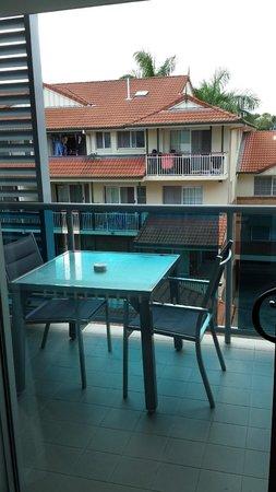 Jephson Hotel: balcony