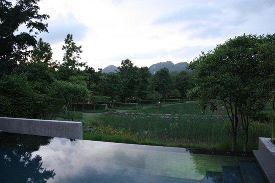 Muthi Maya Forest Pool Villa Resort: Noisy neighbours (first villa)