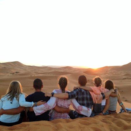Morocco Desert Adventures: Sunset in the Sahara