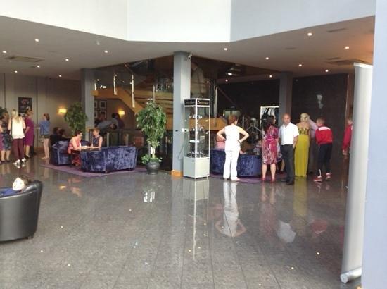 Talbot Hotel Carlow : le hall d'entrée