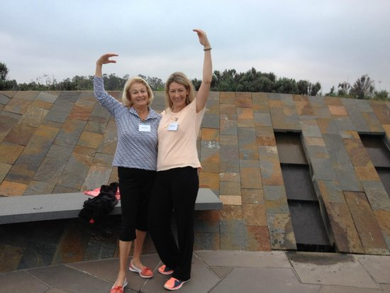Golden Door Health Retreat & Spa Elysia: Mum & I Tai Chi-sing on Meditation Hill