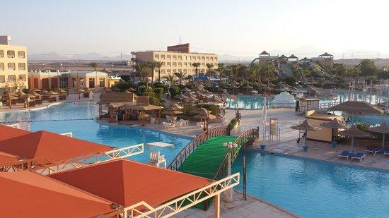 Dessole Titanic Aqua Park Resort: view from my room