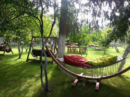 Okaliptus Hotel : Stunning garden to chill out in