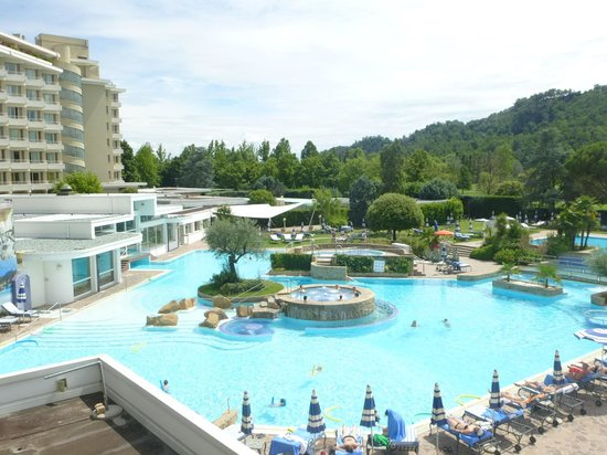 Radisson Blu Resort, Terme di Galzignano - Hotel Majestic : piscine