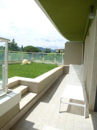 Radisson Blu Resort, Terme di Galzignano - Hotel Majestic : terrase