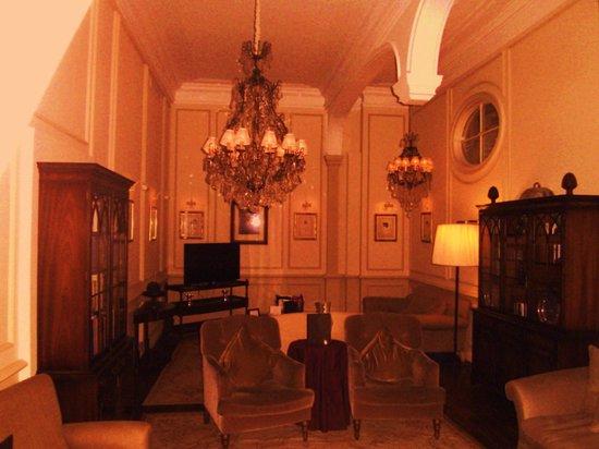 Hotel De Tuilerieen: prachtig salon