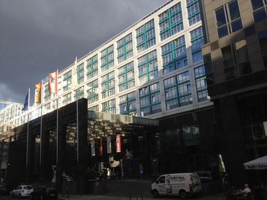 Maritim proArte Hotel Berlin: facade van het hotel