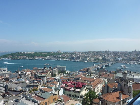 Witt Istanbul Suites : A view from the King Panoramic with Terrace room