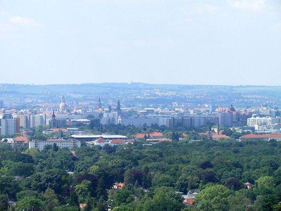 Tryp by Wyndham Dresden Neustadt: Dresden van bovenaf gezien