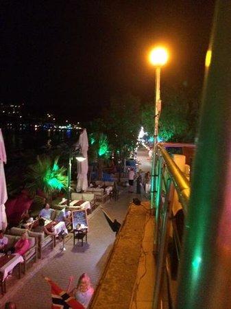 Sunset Beach Restaurant Bitez: view from upper floor seating